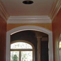 Interior Arched Door casing