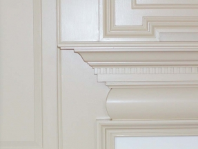 Fine Details in Custom Crown Moulding