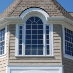arched performance exterior window casing